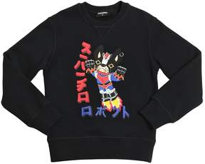 DSQUARED2 Ciro Print Cotton Sweatshirt