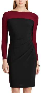 Chaps Women's Colorblock Jersey Dress