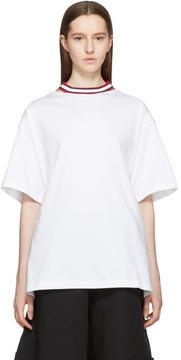Facetasm White Tie Back T-Shirt