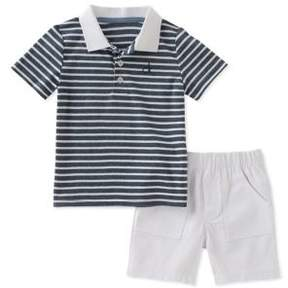Calvin Klein Jeans Baby Boy's Two-Piece Tee & Short Set