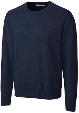 Cutter & Buck Navy Broadview Crew Sweatshirt - Men