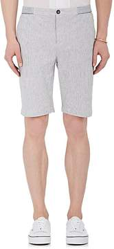 ATM Anthony Thomas Melillo Men's Striped Cotton-Blend Seersucker Shorts