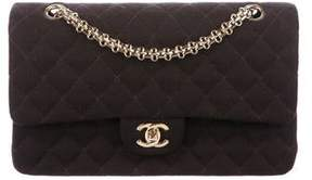 Chanel Classic Medium Jersey Double Flap Bag