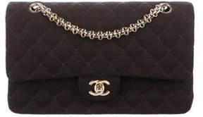Chanel Classic Medium Jersey Double Flap Bag