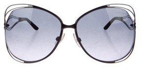 Roberto Cavalli Gradient Oversized Sunglasses