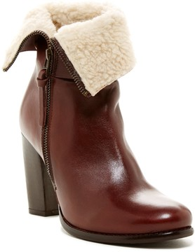 Catherine Malandrino Zela Faux Fur Leather Bootie