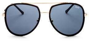Quay Needing Fame Aviator Sunglasses, 60mm