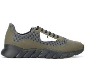 Fendi Bugs appliqué sneakers