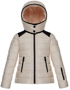Moncler Emeraude Technical Ski Jacket, Size 4-6