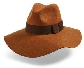 Brixton Women's Piper Floppy Wool Felt Hat - Brown