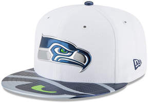 New Era Boys' Seattle Seahawks 2017 Draft 59FIFTY Cap