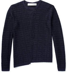 Isabel Benenato Cotton And Linen-Blend Sweater