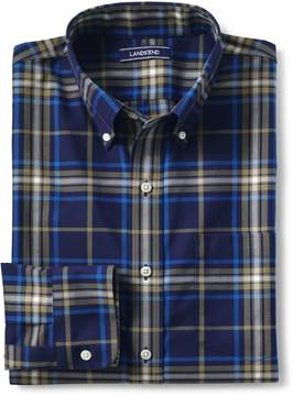 Lands' End Lands'end Men's Traditional Fit No Iron Twill Shirt