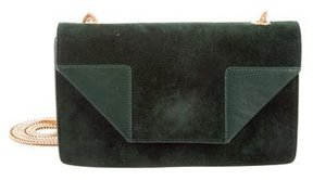 Saint Laurent Suede Betty Crossbody Bag - GREEN - STYLE