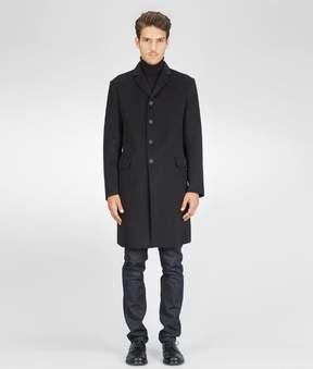 Bottega Veneta Nero Double Cashmere Coat