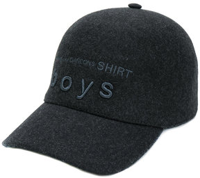 Comme des Garcons Boys embroidered hat