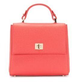 Hugo Boss Bespoke Calfskin Bag, Detachable Strap One Size Pink