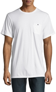Alternative Apparel Men's Raw Edge Pocket Tee