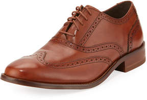 Cole Haan Williams Leather Wing-Tip Oxford, Brown