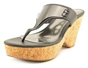 Fergie Isis Women Open Toe Synthetic Black Sandals.