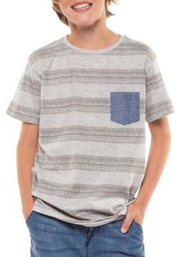 Dex Boy's Striped Cotton Tee