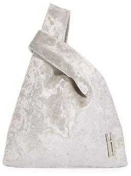 Hayward Mini Velvet Shopper Tote Bag