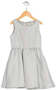 Kenzo Girls' Jacquard Flare Dress