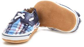 Robeez Baby Boys' Newborn-18 Months Connor Plaid Shoes