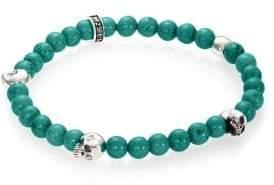 King Baby Studio Turquoise Beaded Bracelet