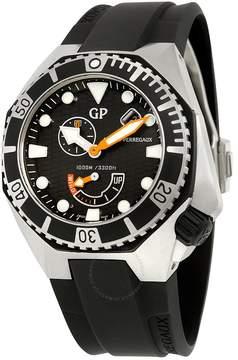 Girard Perregaux Sea Hawk Black Dial Black Rubber Automatic Men's Watch