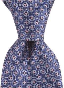 Daniel Cremieux Big & Tall Satelite Neat Traditional Silk Tie