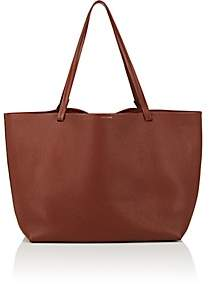 The Row Women's Park Leather Tote Bag - Brown