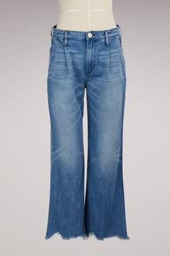 3x1 3 X 1 Shelter Pleated Crop Jean