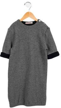 Marni Girls' Short Sleeve Knit Dress
