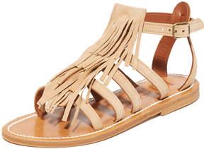 K. Jacques Fregate Fringe Sandals