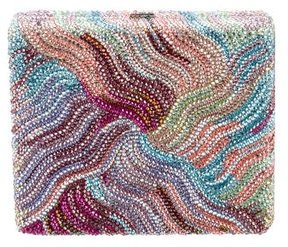 Judith Leiber Multicolor Crystal-Embellished Clutch
