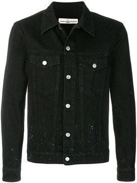 Golden Goose Deluxe Brand Decorated denim jacket