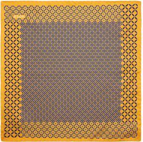 Eton Silk Mosaic Pocket Square