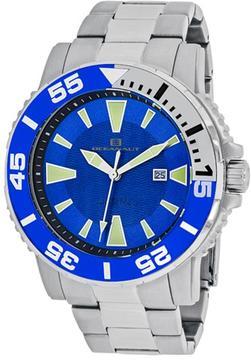 Oceanaut Marletta OC2913 Men's Round Silver Stainless Steel Watch