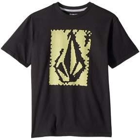 Volcom Pixel Stone Short Sleeve Tee Boy's T Shirt