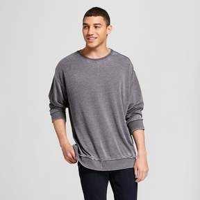 Jackson Men's Drop Shoulder Crew Neck Pullover Sweatshirt Charcoal