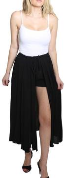 Easel Flare Maxi Shorts