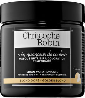 Christophe Robin Shade Variation Care Nutritive Mask with Temporary Coloring - Golden Blonde