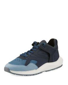 Filling Pieces Legacy Arch Running Sneaker, Navy