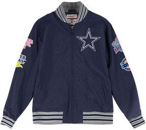 Mitchell & Ness Men's Dallas Cowboys Team History Warm Up Jacket