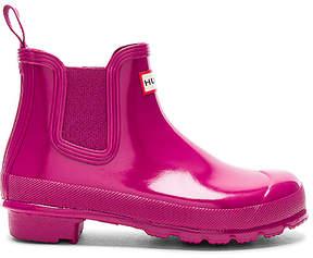 Hunter Chelsea Gloss One Tab Boot