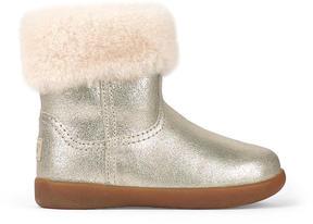 UGG Golden leather boots - Jorie II Metallic
