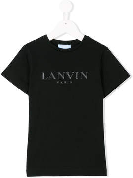 Lanvin Enfant logo print T-shirt