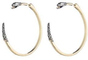 Alexis Bittar Women's Elements Snake Hoop Earrings
