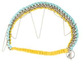 Maison Michel Chain-Link Headband
